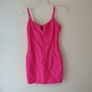 Tobi hot pink mini dress size M